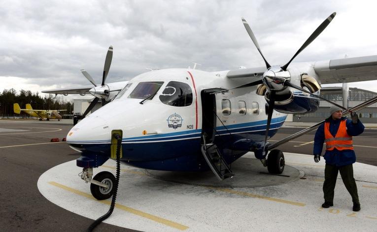Tupolew turbośmigłowy aircraft mały samolot